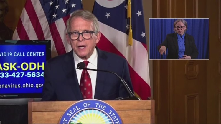 DeWine defends $1 million lottery giveaway meant to entice more COVID vaccine participation