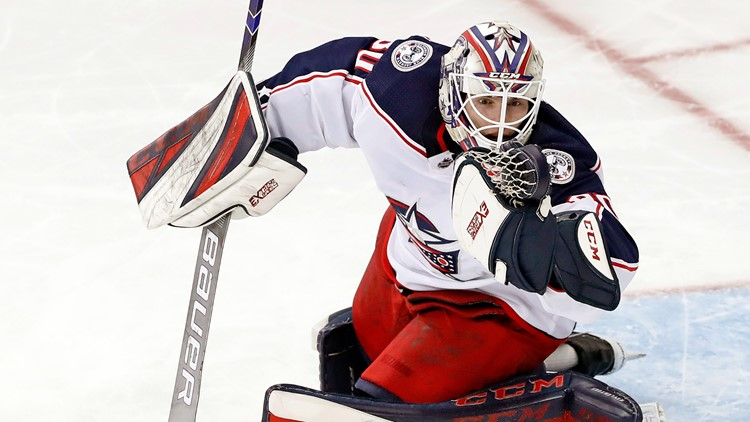 'He had a dream and he lived his dream': Columbus Blue Jackets address death of Matiss Kivlenieks