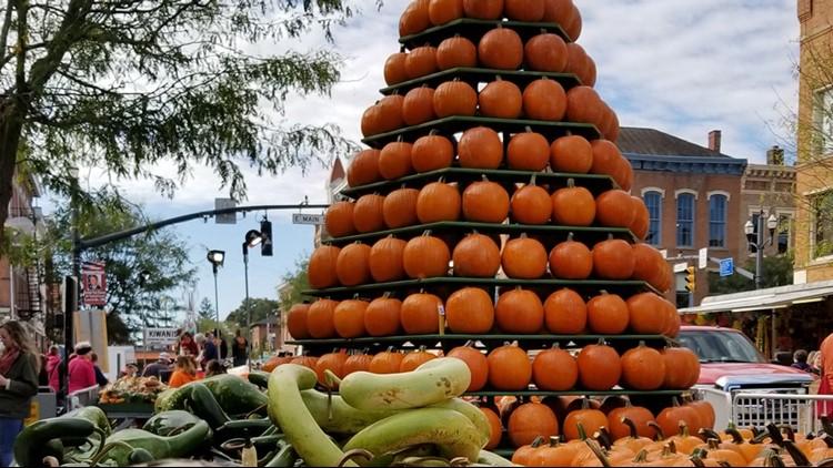 2021 Circleville Pumpkin Show: Map, event schedule, live video