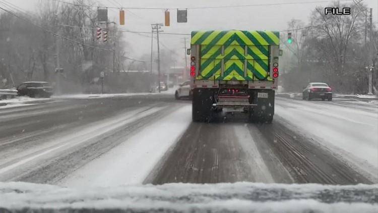 ODOT crews preparing for potential winter weather