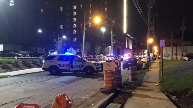 2 people injured in shooting behind downtown Columbus bar