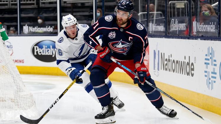 Blue Jackets trade captain Nick Foligno to Toronto Maple Leafs