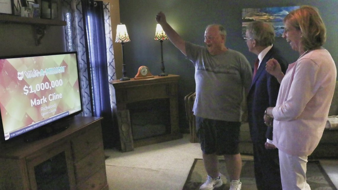 Union County man was not expecting Gov. DeWine to knock on his door, win $1 million