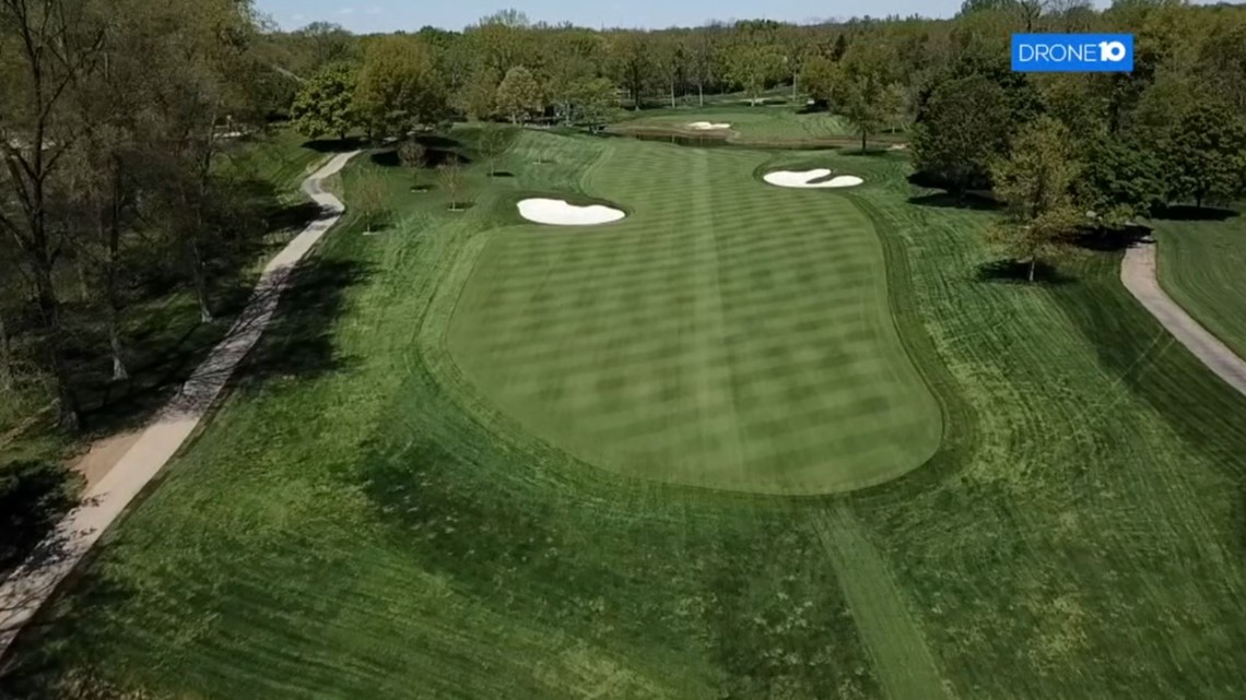 Muirfield Village Golf Club   Drone10 flyover of the course