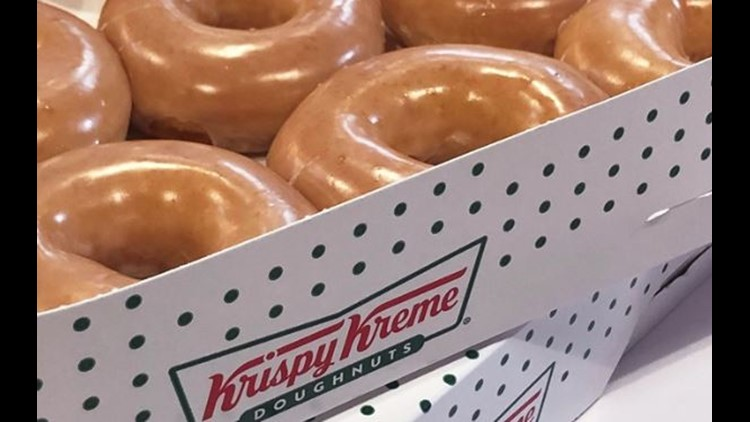 Krispy Kreme announces 'national doughnut delivery'