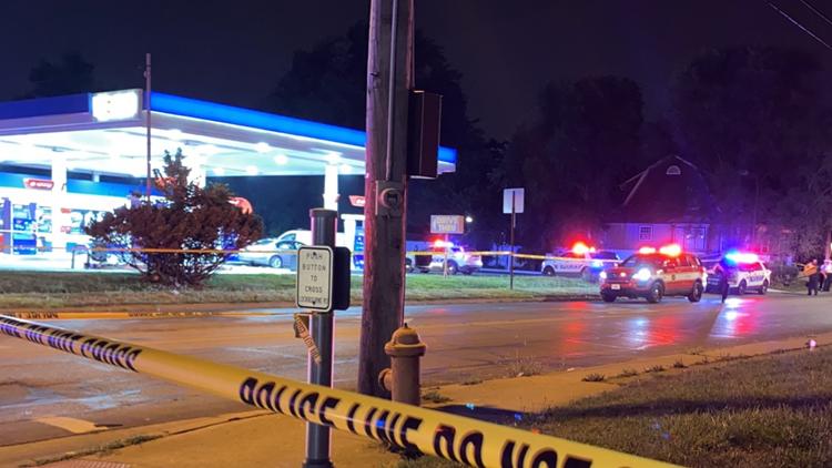 Man killed in shooting at south Columbus gas station