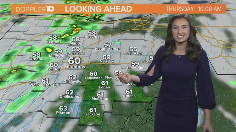 Columbus, Ohio weather forecast   Oct. 21, 2021
