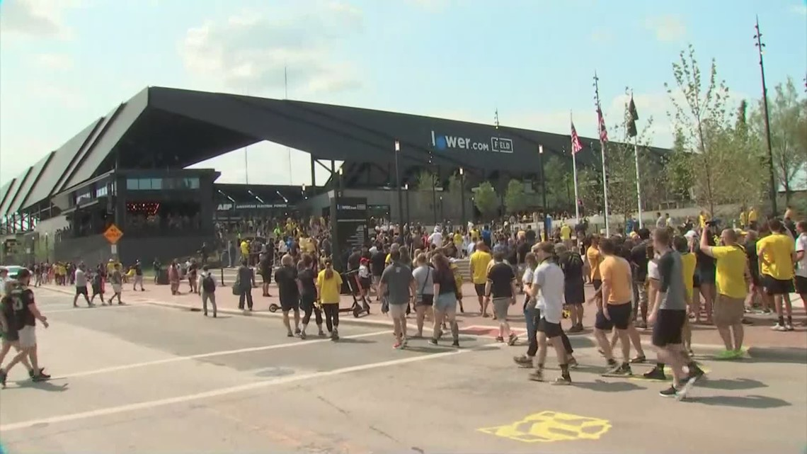 Fans gear up for Columbus Crew's first match at Lower.com Field