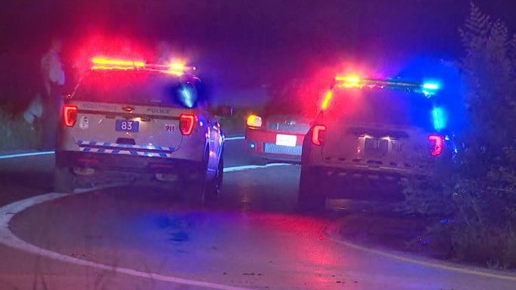1 person hit by vehicle on ramp from I-70 west to Mound Street