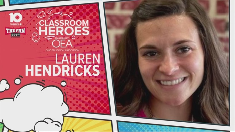 Classroom Hero- Lauren Hendricks