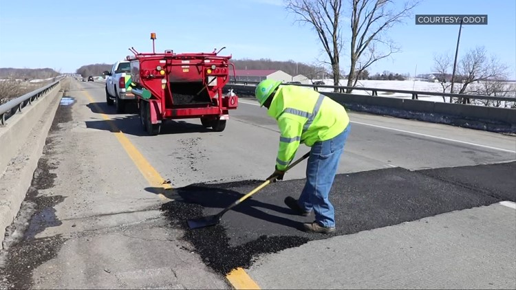 Melting snow, swing in temperatures creates perfect combination for potholes
