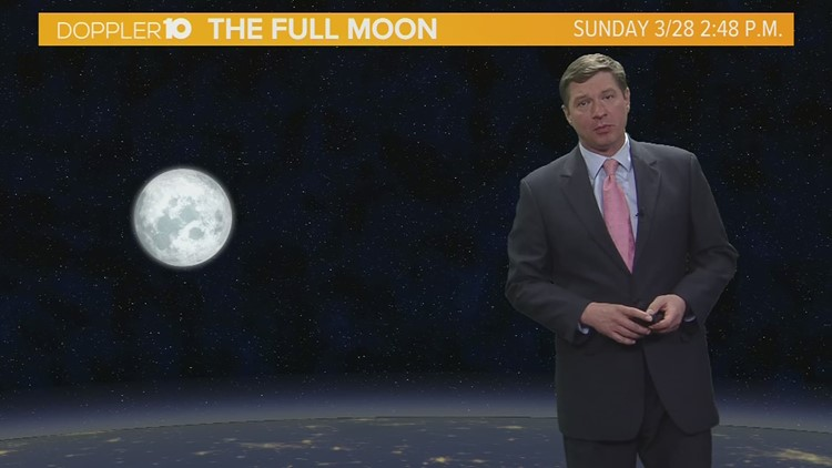 Skywatch: Look for the first Full Moon of the season this week
