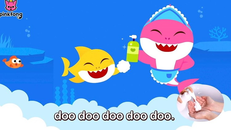 'Baby Shark' earworm reworked for washing hands amid coronavirus outbreak