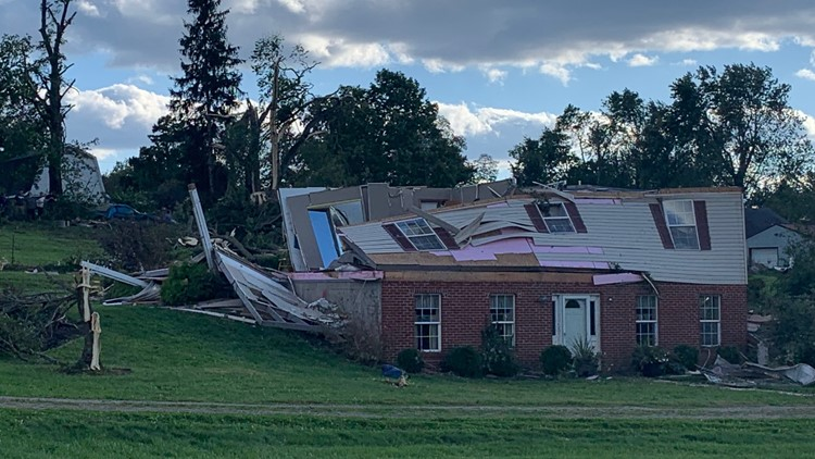 NWS: 3 tornadoes in Ross County, 1 in Pickaway County among at least 6 in Ohio Saturday