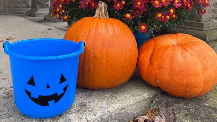 What to do if you see a blue pumpkin while trick-or-treating