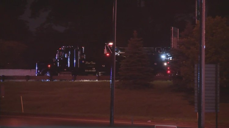 I-70 East at I-71 closed due to crash involving semi