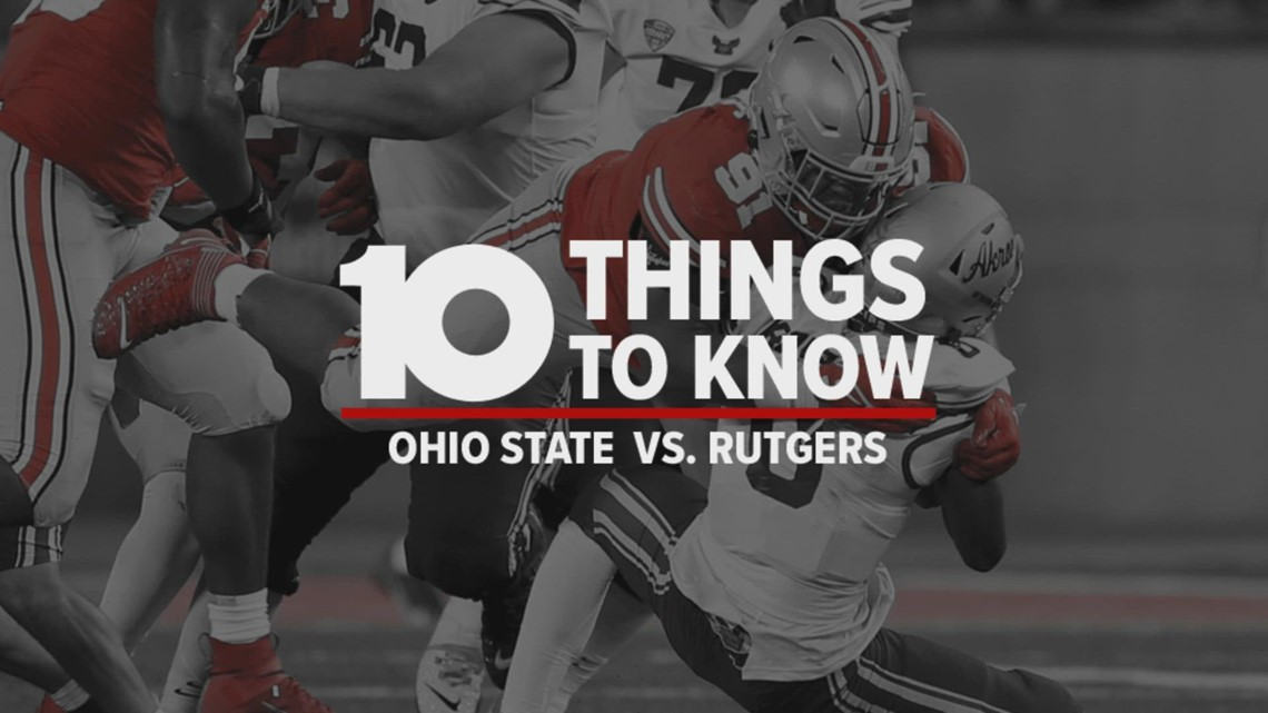 10 Things To Know: Ohio State vs. Rutgers