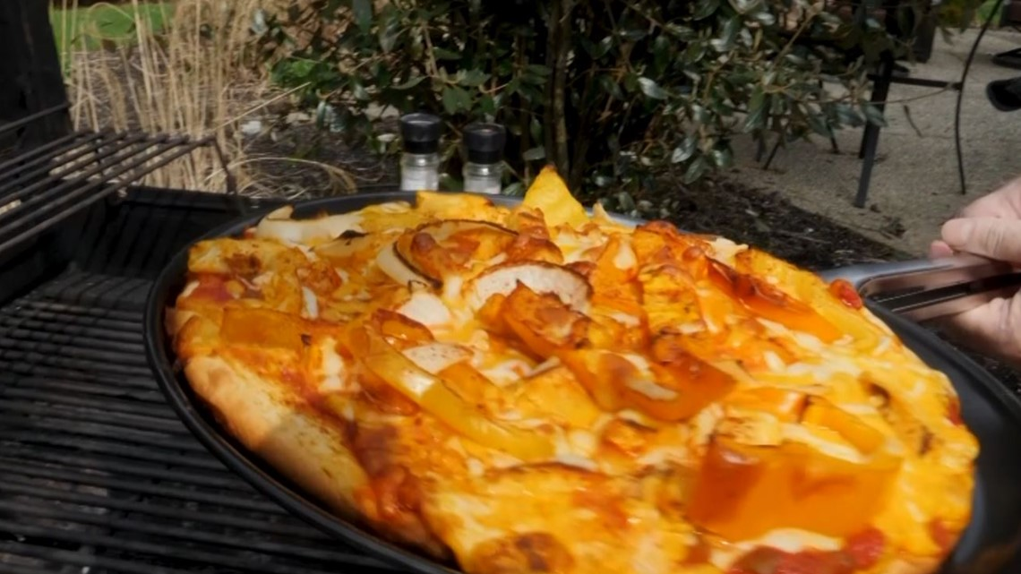 Cooking with Dom: Southwestern Pizza