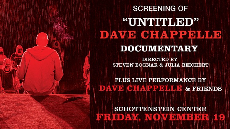 Dave Chappelle coming to Columbus in November for 'Untitled' documentary screening, live performance