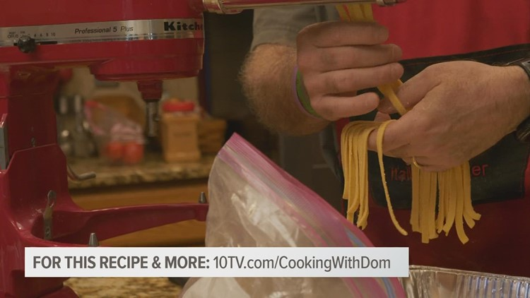 Cooking with Dom: Homemade Pasta