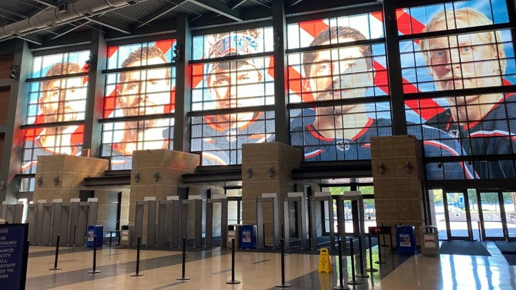 Nationwide Arena prepares for Columbus Blue Jackets season opener, keeping safety front of mind