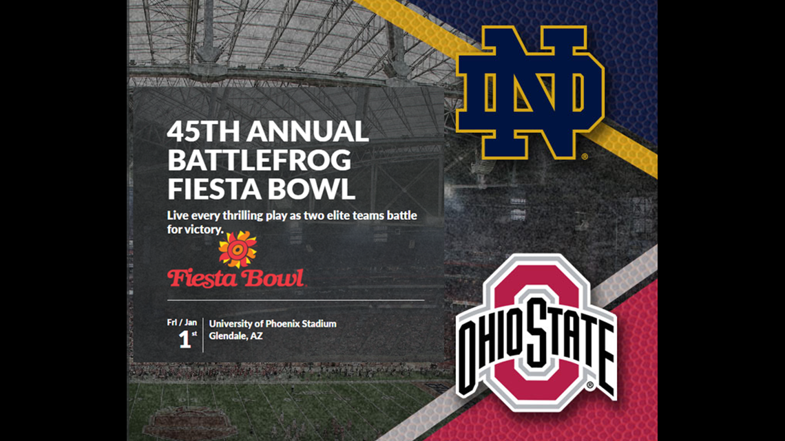 2015 Fiesta Bowl Preview How To Watch Ticket Information 10tv Com