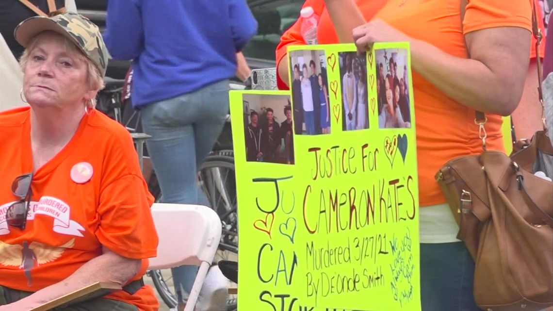 Community leaders rally outside City Hall as gun violence continues in Columbus