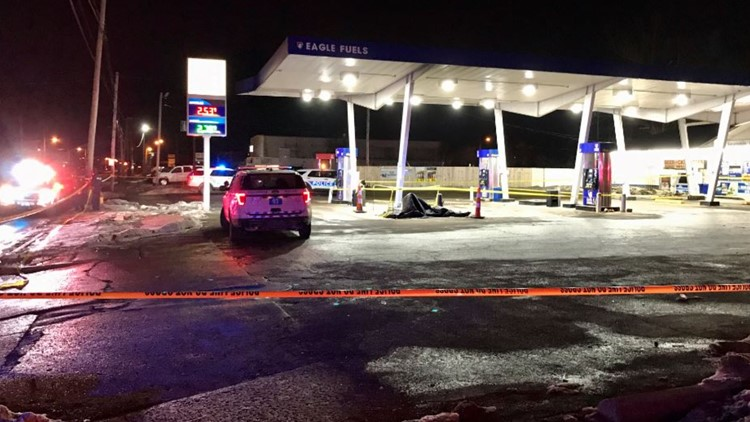 One person dies after double shooting at gas station in east Columbus