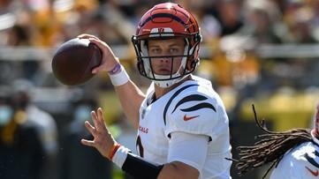 Burrow throws 3 TDs, Bengals drop listless Steelers 24-10