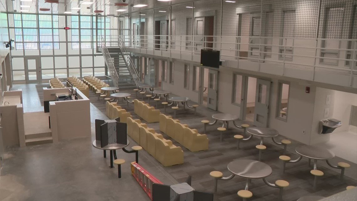 A look inside the new Franklin County Jail