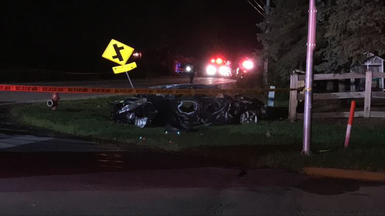 Sheriff: 6 injured in fiery 3-vehicle crash in Franklin County