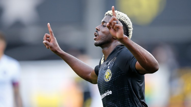 Columbus Crew forward Gyasi Zardes voted MLS Player of the Week