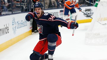Sillinger scores first career goal in Blue Jackets' 3-2 win over Islanders