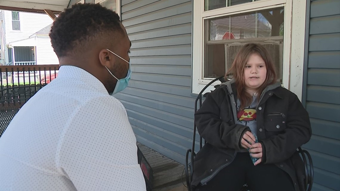 9-year-old girl returns home after getting caught in crossfire of south Columbus shootout