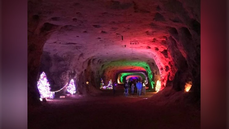 Christmas Cave Minford Ohio 2020 The Christmas Cave is unlike any holiday attraction around, and