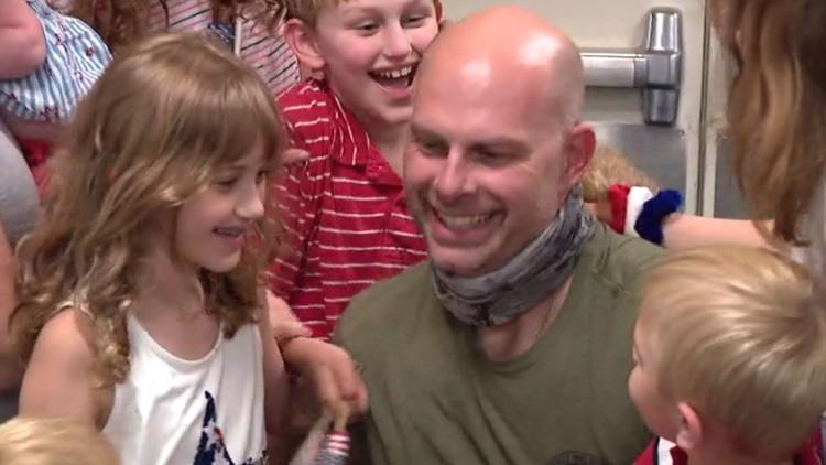 'I have my best friend back': U.S. Airman reunites with family at John Glenn Columbus International Airport