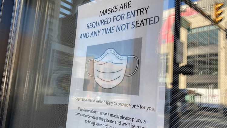 If health orders are lifted, restaurants may still enforce safety measures