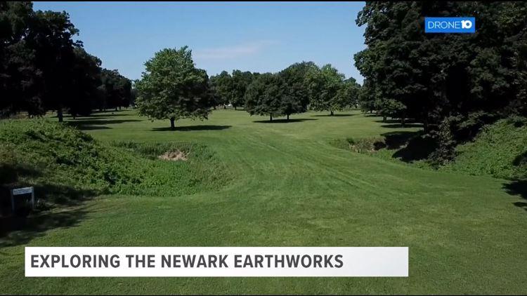 Drone 10: Exploring the Newark Earthworks