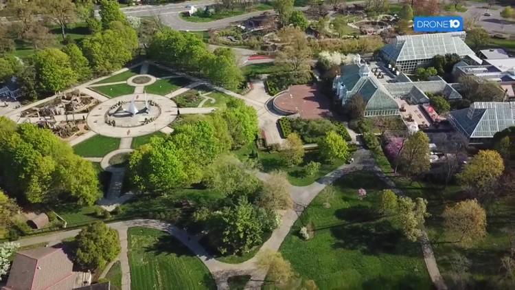 Drone 10: Franklin Park Conservatory and Botanical Gardens