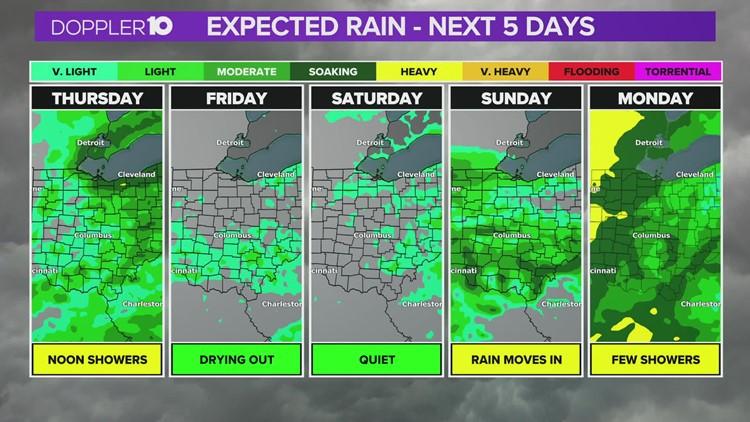 Thursday evening forecast   Oct. 21, 2021