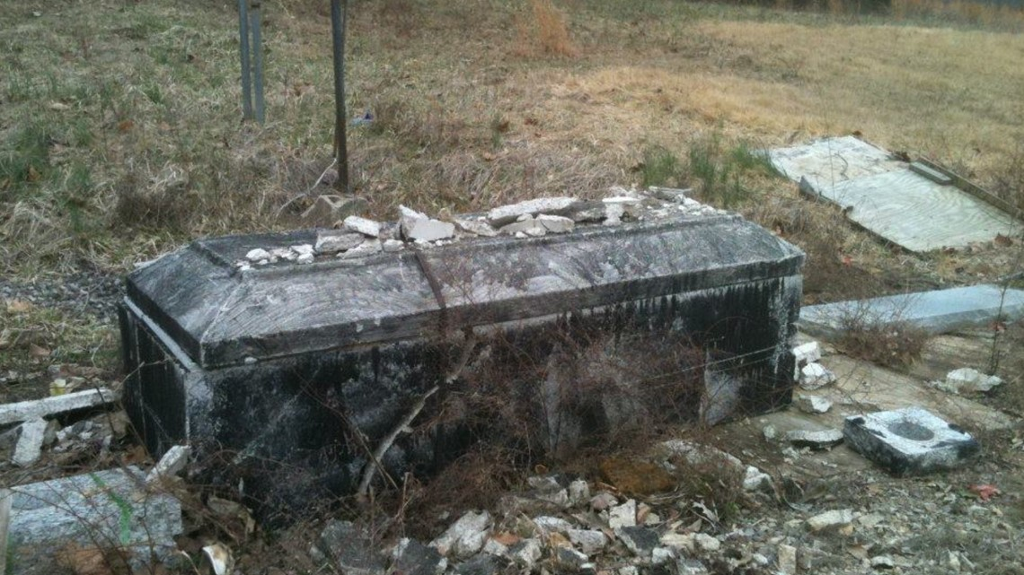 'We kind of feel helpless': Loved ones frustrated with filthy conditions of Chillicothe cemetery