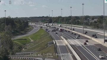 FCSO: Deadly crash shuts down ramp at I-71 South to I-270 West in southern Franklin County