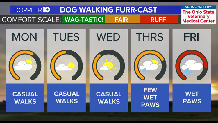 Dog Walkers Weekly Furr-cast   October 11th, 2021
