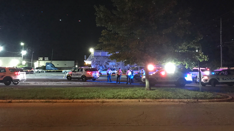 Man in life-threatening condition after being hit by vehicle in west Columbus