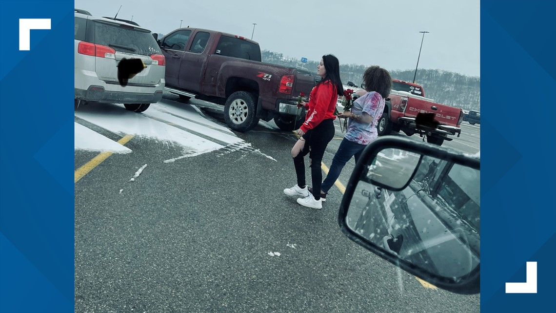 Roses left on vehicles create temporary panic at Coshocton Walmart