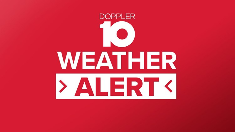 Severe weather moves out of central Ohio