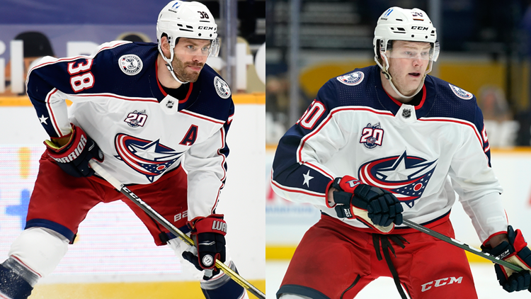 Blue Jackets sign Jenner, Robinson to contract extensions