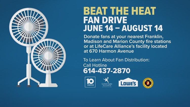 Beat the Heat Fan Drive:  Help your neighbors stay cool this summer