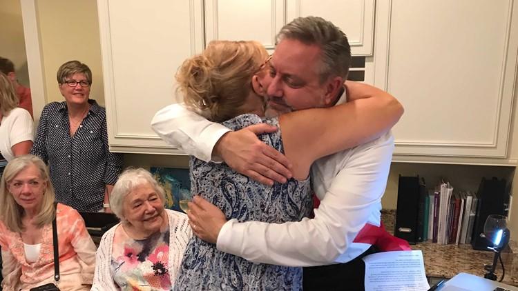 Chris Bradley's husband, Jason, wins Leukemia and Lymphoma Society's Man of the Year award