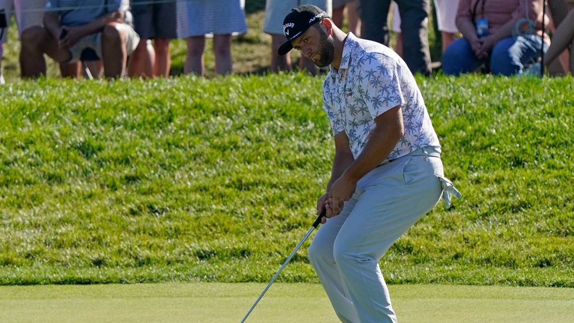 Jon Rahm tests positive for COVID-19, withdraws from The Memorial with 6-shot lead